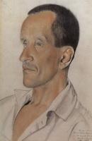Портрет К.Н. Игумнова (Б.М. Кустодиев, 1923 г.)