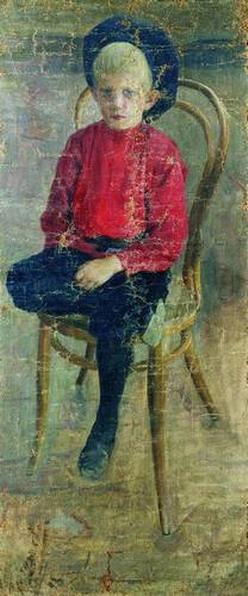 Портрет Гурия Николаевича Смирнова, двоюродного брата художника.