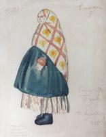 Баба из Тулы (Б. Кустодиев, 1926 г.)