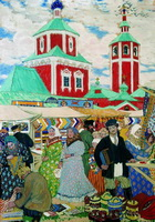 Ярмарка (Б.М. Кустодиев, 1910 г.)