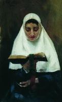 Монахиня (Б. Кустодиев, 1901 г.)