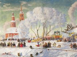 Масленица (Б. Кустодиев, 1920 г.)