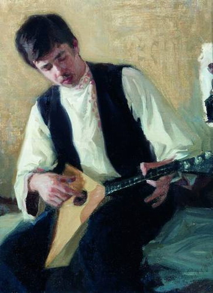 Портрет И. С. Куликова.