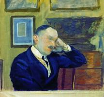Портрет В.Н. Аргутинского-Долгорукова (Б.М. Кустодиев, 1910 г.)