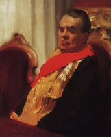Портрет А.А. Половцева (Б.М. Кустодиев, 1902-1903 г.)