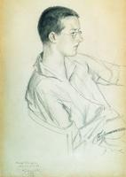 Портрет композитора Дмитрия Дмитриевича Шостаковича