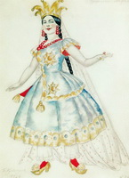 Царевна Анфиса (Б.М. Кустодиев, 1924 г.)