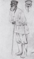Крестьянин (Б. Кустодиев, 1914 г.)
