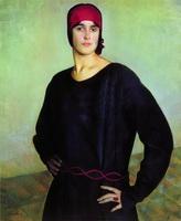 Портрет Т.Н. Чижовой (Б.М. Кустодиев, 1924 г.)