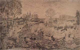 Весна (Б. Кустодиев, 1919 г.)