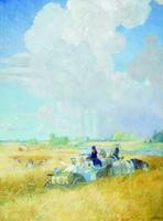 Лето (Б. Кустодиев, 1921 г.)