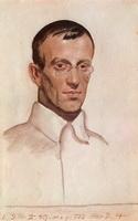 Портрет В.В. Воинова (Б.М. Кустодиев, 1924 г.)