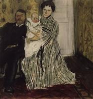 Семейный портрет (Б.М. Кустодиев, 1904 г.)