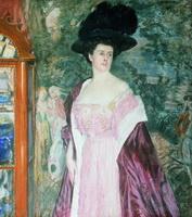 Портрет А.Д. Романовой (Б.М. Кустодиев, 1908 г.)