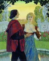 Поэзия (Б.М. Кустодиев, 1902 г.)