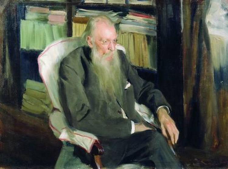 Портрет писателя Д. Л. Мордовцева.
