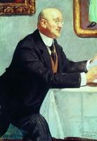 Портрет И.Э. Грабаря (Б.М. Кустодиев, 1916 г.)