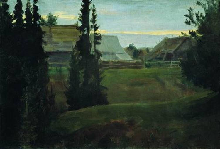 Деревня Маурино Костромской губернии.