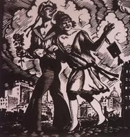 Матрос и милая (Б. Кустодиев, 1926 г.)