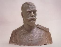 Портрет Николая II (Б.М. Кустодиев, 1910-1911 г.)