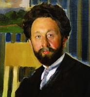 Портрет Василия Александровича Кастальского (Б.М. Кустодиев)