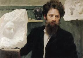 Портрет скульптора Н.Л. Аронсона (Б.М. Кустодиев, 1904 г.)
