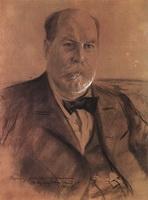 Портрет П.А. Власова (Б.М. Кустодиев, 1903 г.)