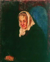 Портрет Юлии Петровны Грек (Б.М. Кустодиев, 1901 г.)