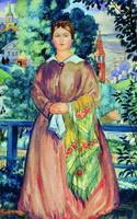 Купчиха (Б. Кустодиев, 1919 г.)