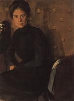 Портрет Ю.Е. Кустодиевой (Б.М. Кустодиев, 1907 г.)