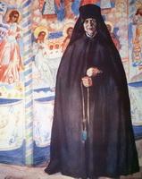 Монахиня (Б. Кустодиев, 1920 г.)