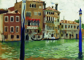 Венеция (Б. Кустодиев, 1907 г.)