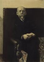 Портрет Ф.К. Сологуба (Б.М. Кустодиев, 1907 г.)