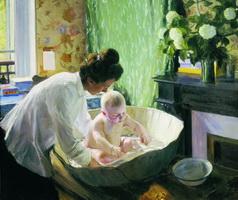 Утро (Б.М. Кустодиев, 1904 г.)