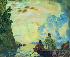 Степан Разин (Б.М. Кустодиев, 1918 г.)