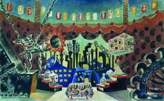Англия (Б. Кустодиев, 1926 г.)