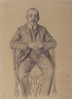 Портрет Д.С. Стеллецкого (Б.М. Кустодиев, 1907 г.)
