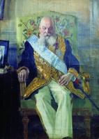 Портрет Д.М. Сольского (Б.М. Кустодиев, 1908 г.)