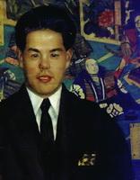 Портрет Кумано-Сан (Б.М. Кустодиев, 1927 г.)