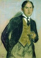 Портрет Г.И. Нарбута (Б.М. Кустодиев, 1914 г.)