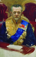 Портрет Н.В. Муравьева (Б.М. Кустодиев, 1902-1903 г.)
