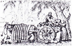 Татарин, торгующий арбузами (1923-1924 г.)