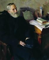 Портрет Степана Лукича Никольского, дяди художника (Б.М. Кустодиев, 1901 г.)