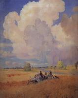 Лето (Б. Кустодиев, 1922 г.)