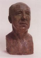 Портрет Ф.К. Сологуба (Б.М. Кустодиев, 1912 г.)