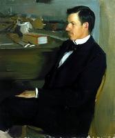 Портрет М.И. Хейлика (Б.М. Кустодиев, 1901 г.)
