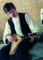 Портрет И.С. Куликова (Б.М. Кустодиев, 1900-е г.)