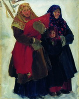Бабы (Б. Кустодиев, 1902 г.)