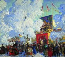 Балаганы (Б. Кустодиев, 1917 г.)