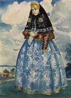 Катерина (Б. Кустодиев, 1920 г.)